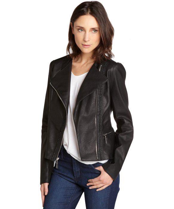 Black-Vegan-Jacket2 5 Casual Winter Outfits for Elegant Ladies