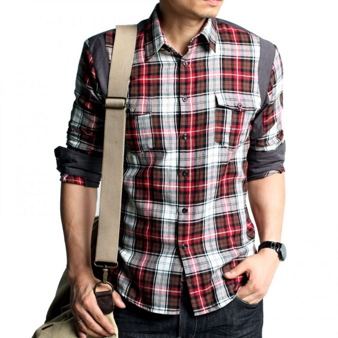 Check-shirts-for-Men-6-675x675 6 Stylish Fall Outfits for School