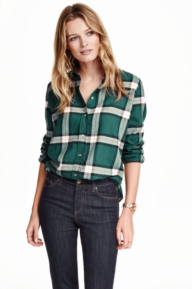 Checked-Shirt12-675x1013 6 Stylish Fall Outfits for School