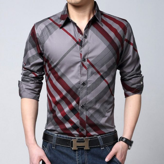 Checked-Shirt5-675x675 6 Stylish Fall Outfits for School