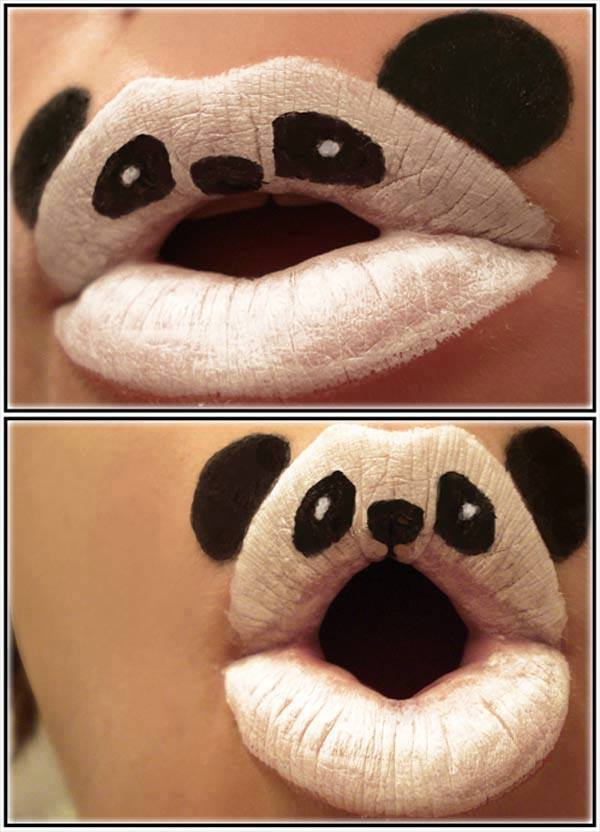 Creative-Face-Painting-EMGN10 16 Creative Lip Makeup Art Trends in 2017