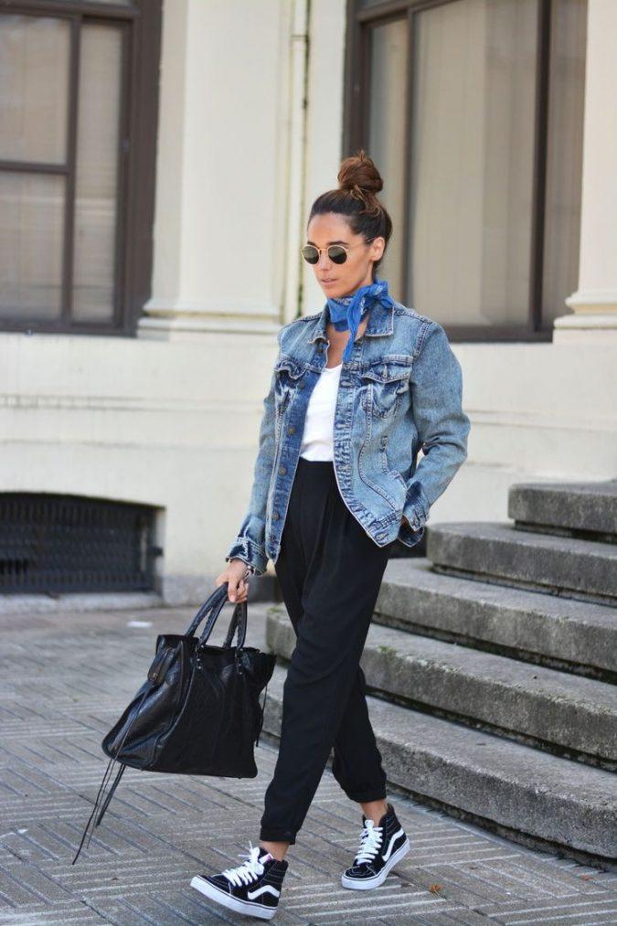 Denim-jacket3-675x1013 6 Stylish Fall Outfits for School