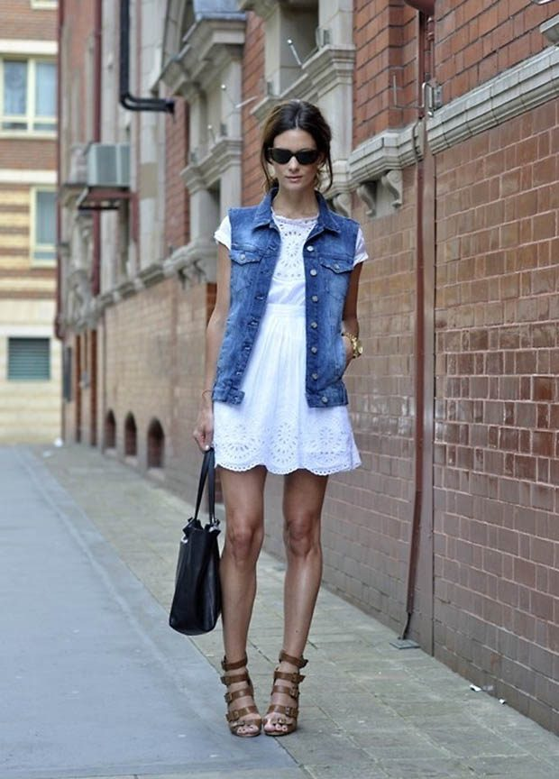 Denim-jacket7 11 Tips on Mixing Antique and Modern Décor Styles