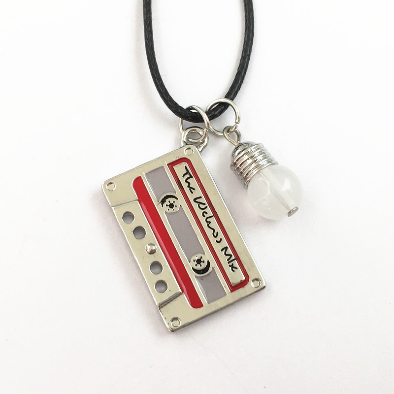 Freeshipping-20pcs-a-lot-Stranger-Things-font-b-Cassette-b-font-font-b-Tape-b-font 10 Most Unusual Necklaces You Will Ever See