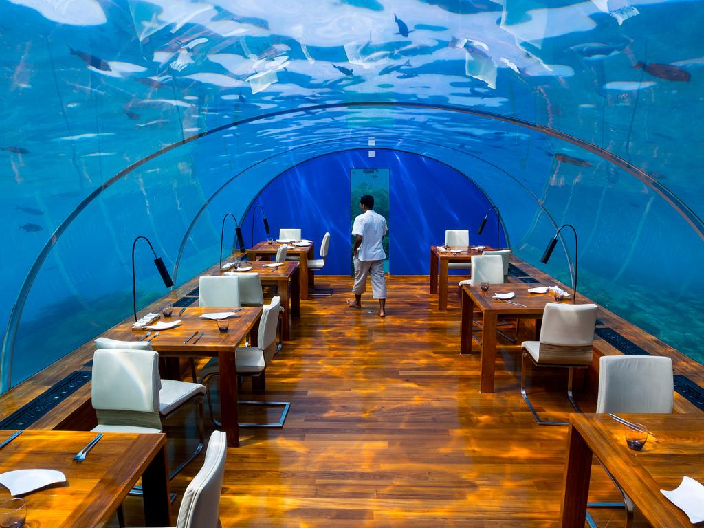 Ithaa-Underwater-Restaurant-in-Maldives2 10 Most Unusual Restaurants in The World