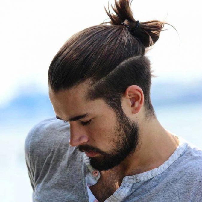 Man-Bun-675x675 35 Stellar Men's Hairstyles for Spring and Summer 2020