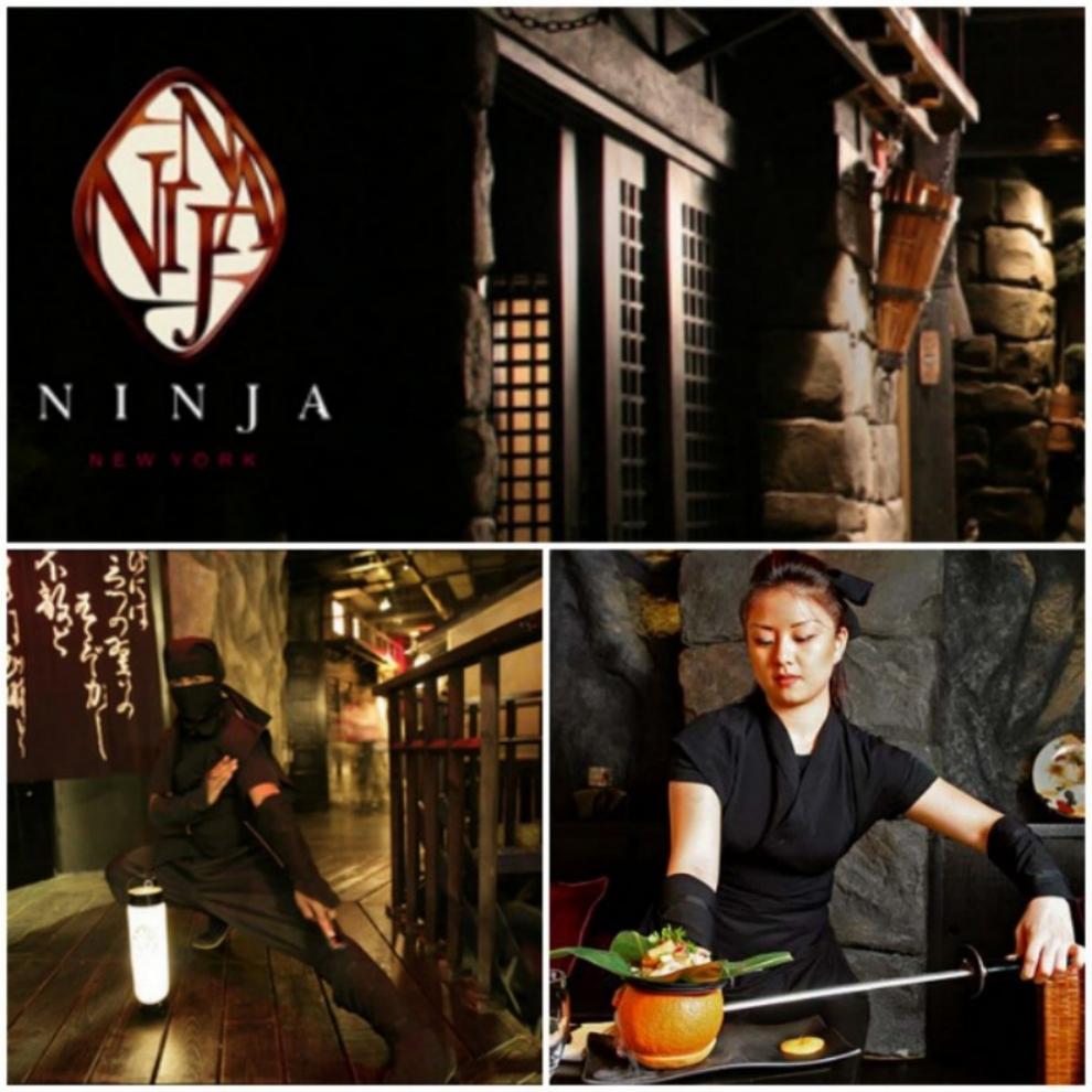 Ninja-New-York-في-مدينة-نيويورك-في-الولايات-المتحدة-مطعم-النينجا 10 Most Unusual Restaurants in The World 2017