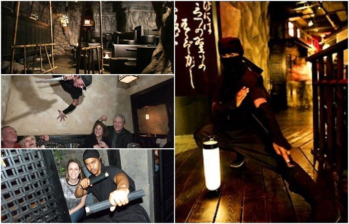Ninja-NewYork 10 World's Most Unusual Restaurants