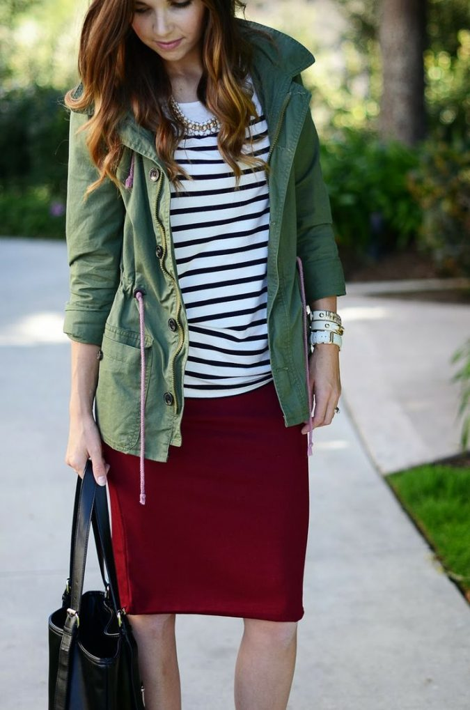 Striped-shirt7-675x1019 6 Stylish Fall Outfits for School