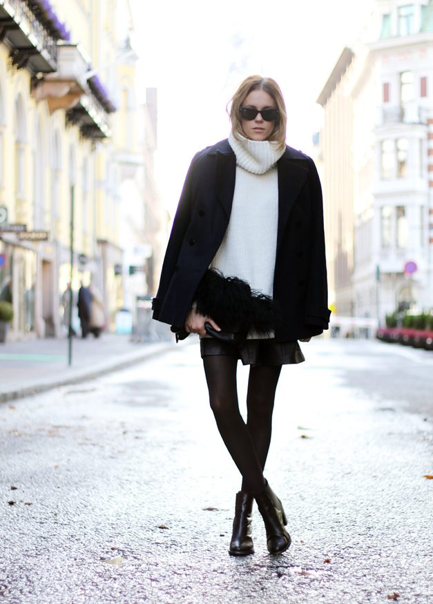 Turtleneck-Sweaters-For-Women-5 5 Casual Winter Outfits for Elegant Ladies