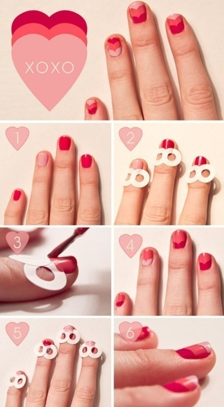 Valentines-Day-Nails-2017-1 50+ Lovely Valentine's Day Nail Art Ideas 2020