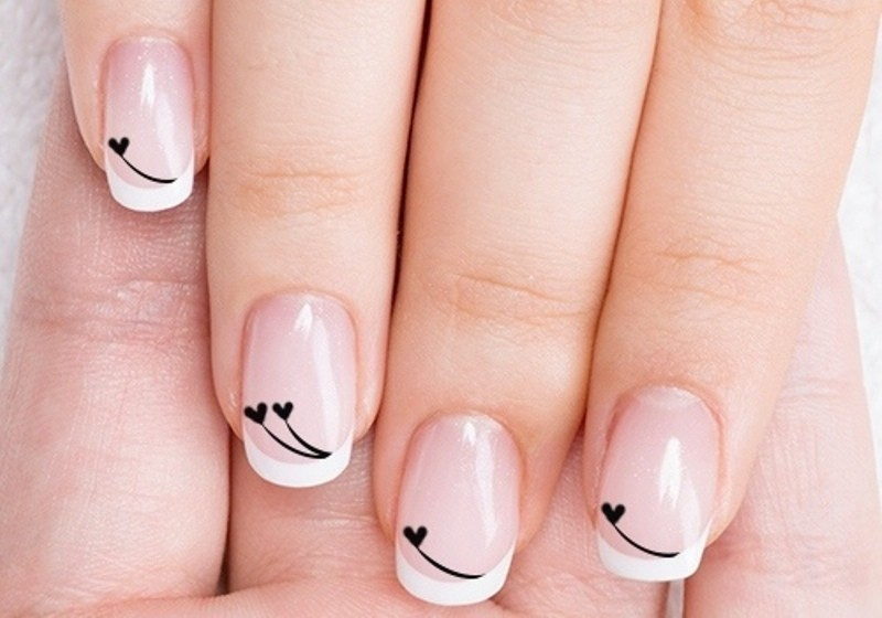 Valentines-Day-Nails-2017-100 50+ Lovely Valentine's Day Nail Art Ideas 2020