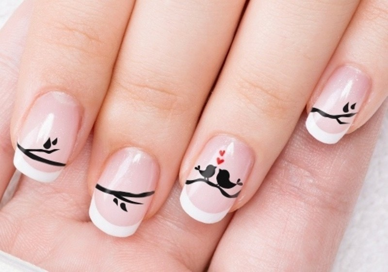 Valentines-Day-Nails-2017-101 50+ Lovely Valentine's Day Nail Art Ideas 2020