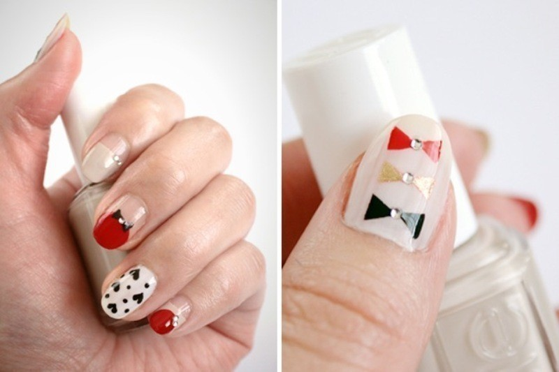 Valentines-Day-Nails-2017-105 50+ Lovely Valentine's Day Nail Art Ideas 2020