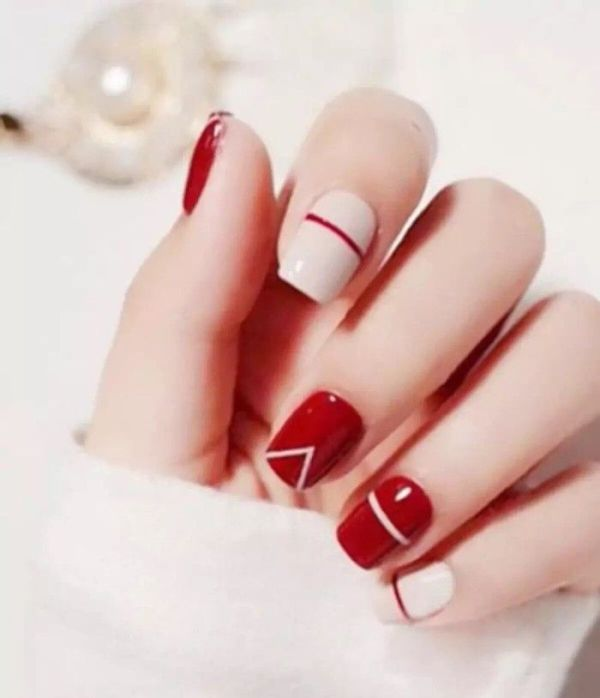 Valentines-Day-Nails-2017-109 50+ Lovely Valentine's Day Nail Art Ideas 2017