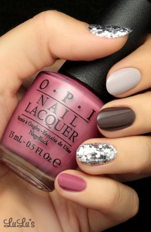 Valentines-Day-Nails-2017-11 50+ Lovely Valentine's Day Nail Art Ideas 2020