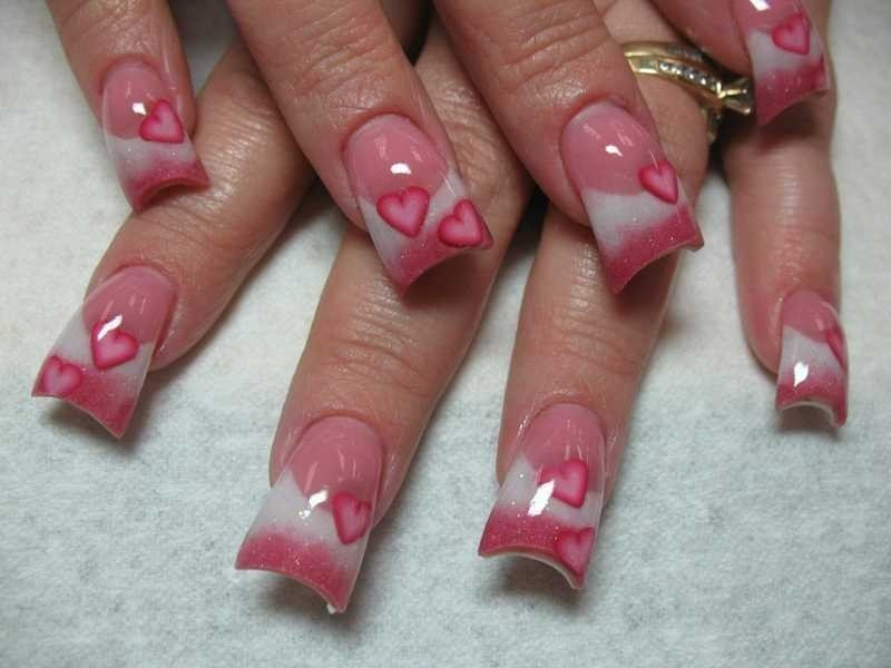 Valentines-Day-Nails-2017-112 50+ Lovely Valentine's Day Nail Art Ideas 2018