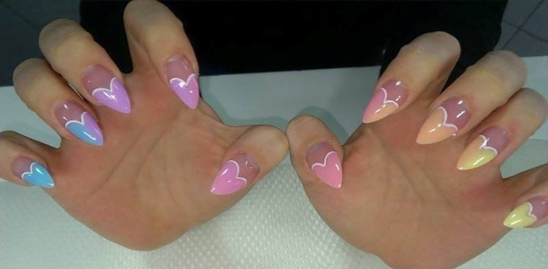 Valentines-Day-Nails-2017-116 50+ Lovely Valentine's Day Nail Art Ideas 2018