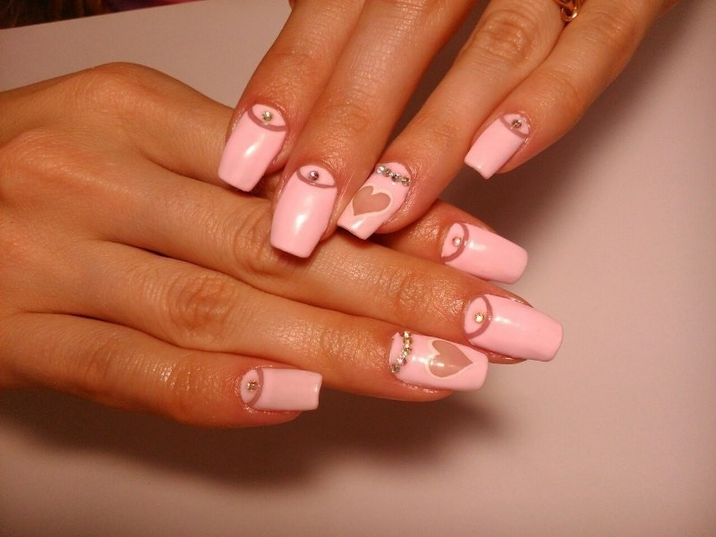 Valentines-Day-Nails-2017-118 50+ Lovely Valentine's Day Nail Art Ideas 2018