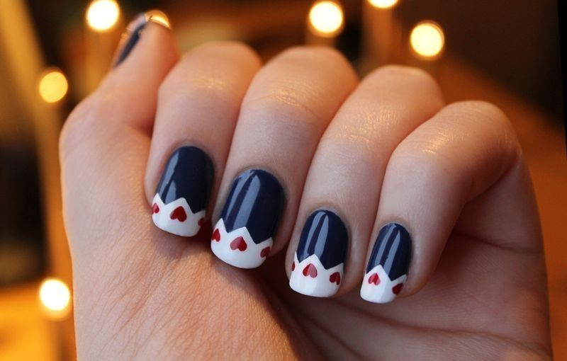 Valentines-Day-Nails-2017-123 50+ Lovely Valentine's Day Nail Art Ideas 2018