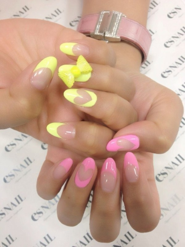 Valentines-Day-Nails-2017-14 50+ Lovely Valentine's Day Nail Art Ideas 2020