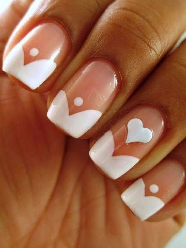 Valentines-Day-Nails-2017-16 50+ Lovely Valentine's Day Nail Art Ideas 2020