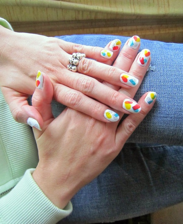 Valentines-Day-Nails-2017-29 50+ Lovely Valentine's Day Nail Art Ideas 2017