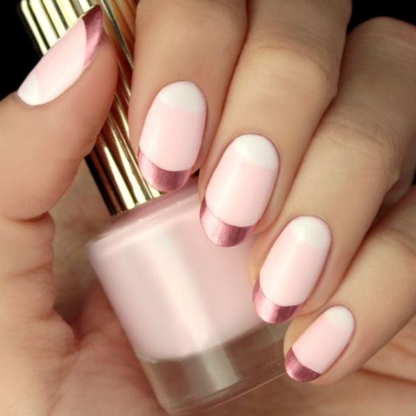 Valentines-Day-Nails-2017-42 50+ Lovely Valentine's Day Nail Art Ideas 2020