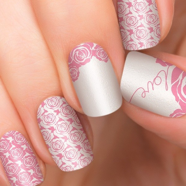 Valentines-Day-Nails-2017-43 50+ Lovely Valentine's Day Nail Art Ideas 2020