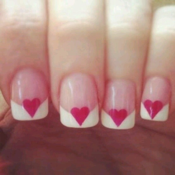 Valentines-Day-Nails-2017-45 50+ Lovely Valentine's Day Nail Art Ideas 2017