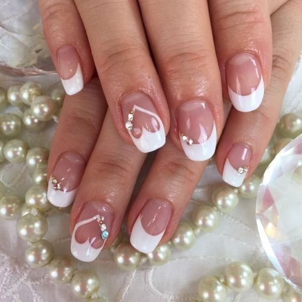 Valentines-Day-Nails-2017-46 50+ Lovely Valentine's Day Nail Art Ideas 2020