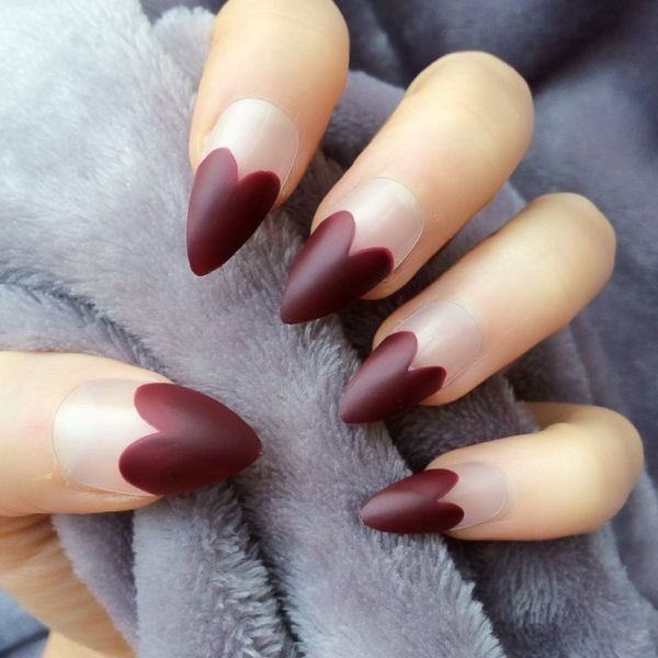 Valentines-Day-Nails-2017-48 50+ Lovely Valentine's Day Nail Art Ideas 2020