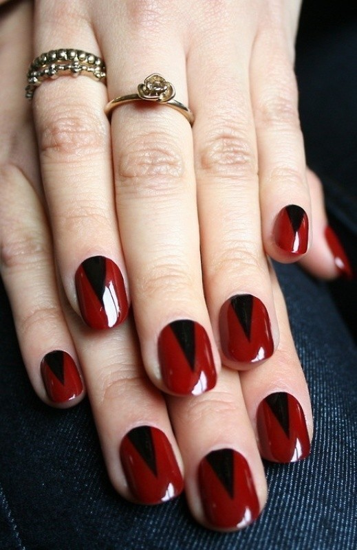 Valentines-Day-Nails-2017-5 50+ Lovely Valentine's Day Nail Art Ideas 2020
