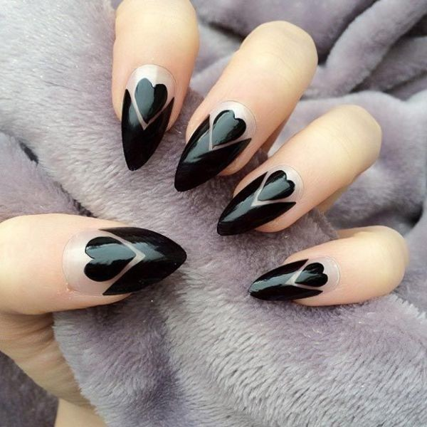 Valentines-Day-Nails-2017-52 50+ Lovely Valentine's Day Nail Art Ideas 2020