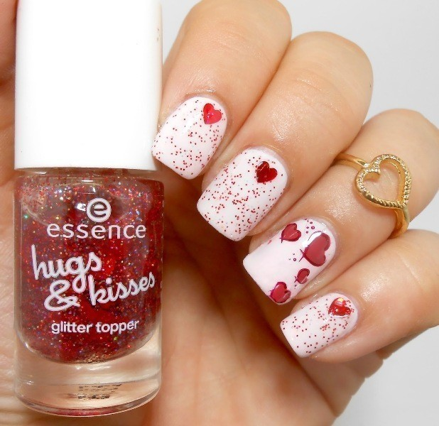 Valentines-Day-Nails-2017-67 50+ Lovely Valentine's Day Nail Art Ideas 2018
