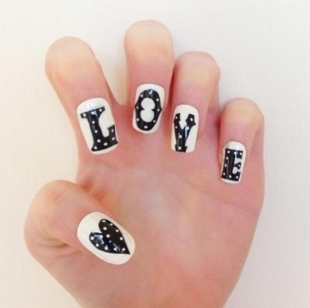 Valentines-Day-Nails-2017-68 50+ Lovely Valentine's Day Nail Art Ideas 2020
