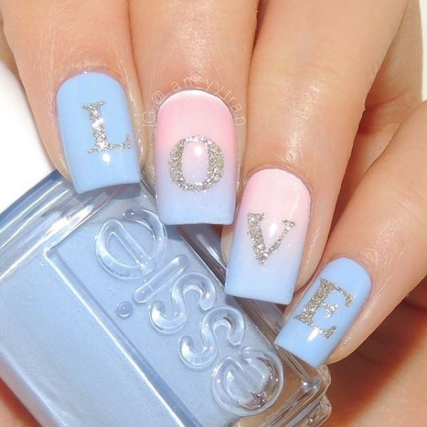 Valentines-Day-Nails-2017-70 50+ Lovely Valentine's Day Nail Art Ideas 2017