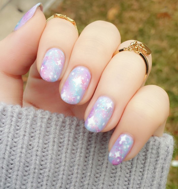 Valentines-Day-Nails-2017-71 50+ Lovely Valentine's Day Nail Art Ideas 2020
