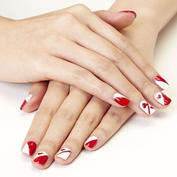 Valentines-Day-Nails-2017-75 50+ Lovely Valentine's Day Nail Art Ideas 2020