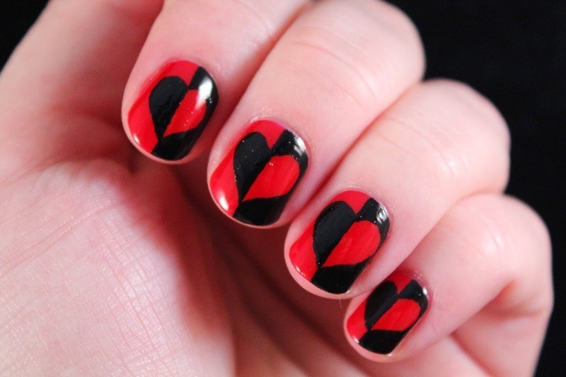 Valentines-Day-Nails-2017-90 50+ Lovely Valentine's Day Nail Art Ideas 2017