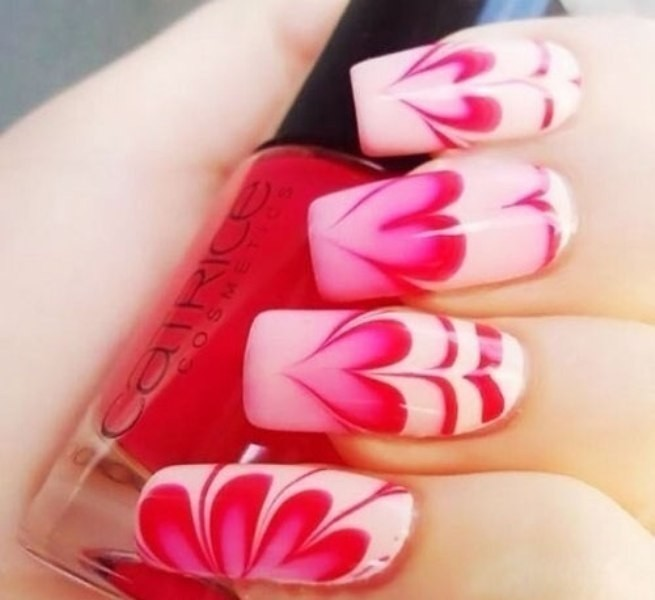 Valentines-Day-Nails-2017-93 50+ Lovely Valentine's Day Nail Art Ideas 2018