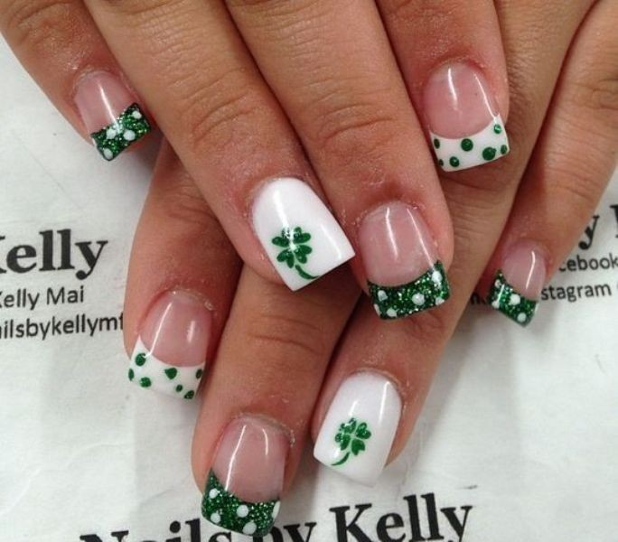 Valentines-Day-Nails-2017-99 50+ Lovely Valentine's Day Nail Art Ideas 2020