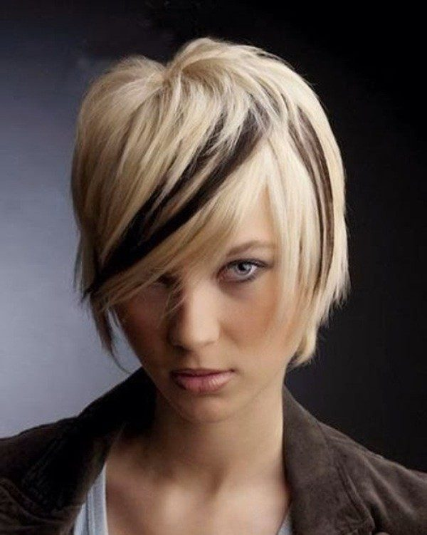adding-highlights-20 80+ Marvelous Color Ideas for Women with Short Hair in 2018