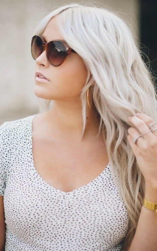 ashy-blonde-3 33 Fabulous Spring & Summer Hair Colors for Women 2022