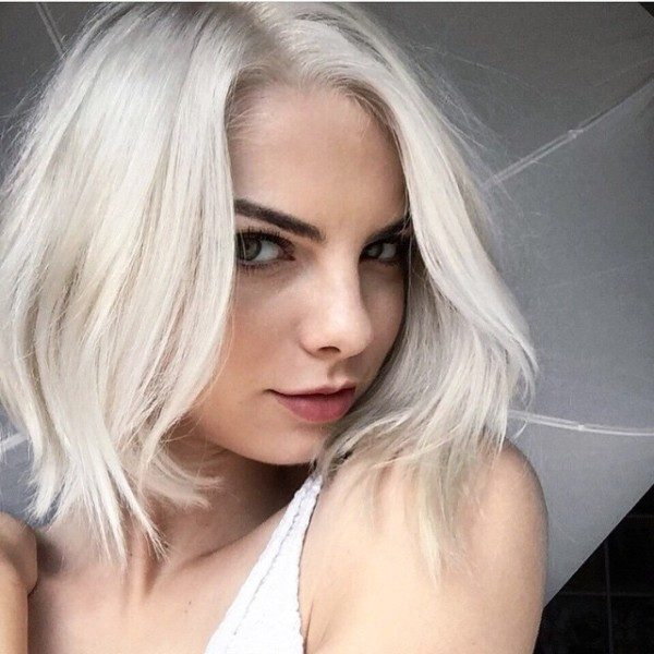 blonde-and-pastels-10 80+ Marvelous Color Ideas for Women with Short Hair