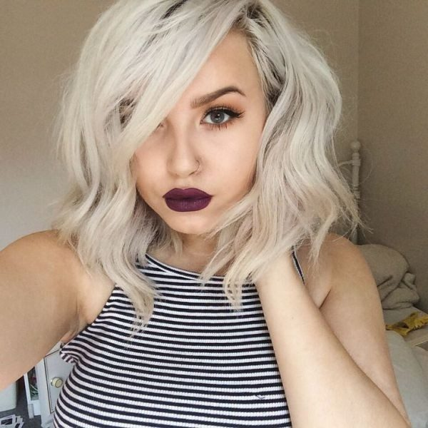 blonde-and-pastels-11 80+ Marvelous Color Ideas for Women with Short Hair