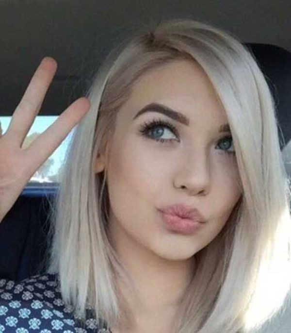 blonde-and-pastels-14 80+ Marvelous Color Ideas for Women with Short Hair