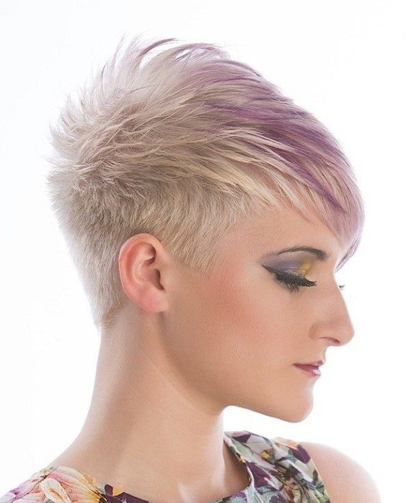 blonde-and-pastels-16 80+ Marvelous Color Ideas for Women with Short Hair in 2018