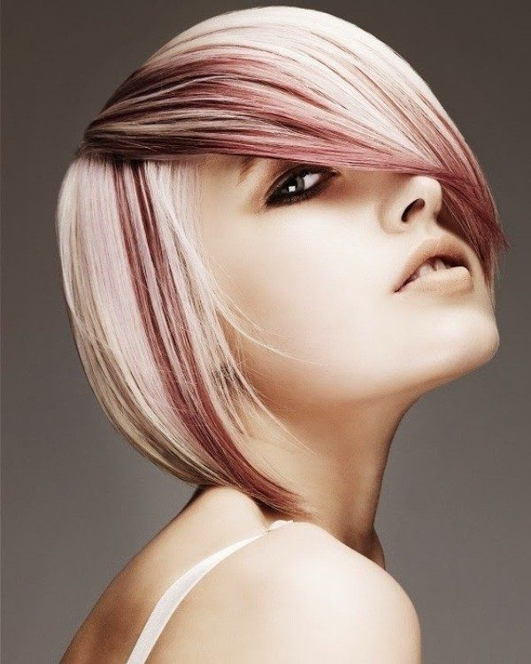 blonde-and-pastels-17 80+ Marvelous Color Ideas for Women with Short Hair in 2018