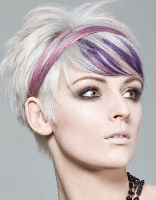 blonde-and-pastels-18 80+ Marvelous Color Ideas for Women with Short Hair in 2018